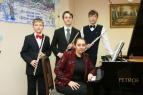 Трио с преподавателем Натальей Евгеньевной Савченко