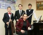 Команда юных музыкантов